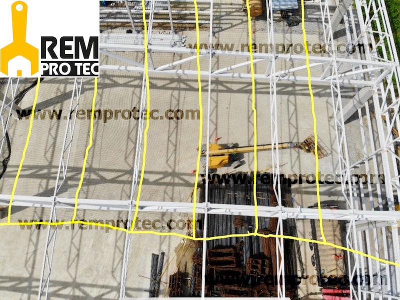 Redes de protección horizontales