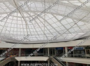 Protección horizontal Centros Comerciales
